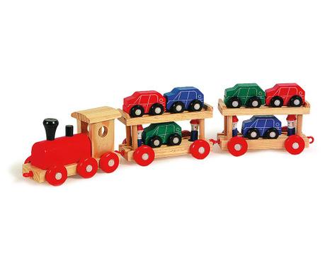 Igralni set - Vlak s 6 i avtomobilčki Motorail Train
