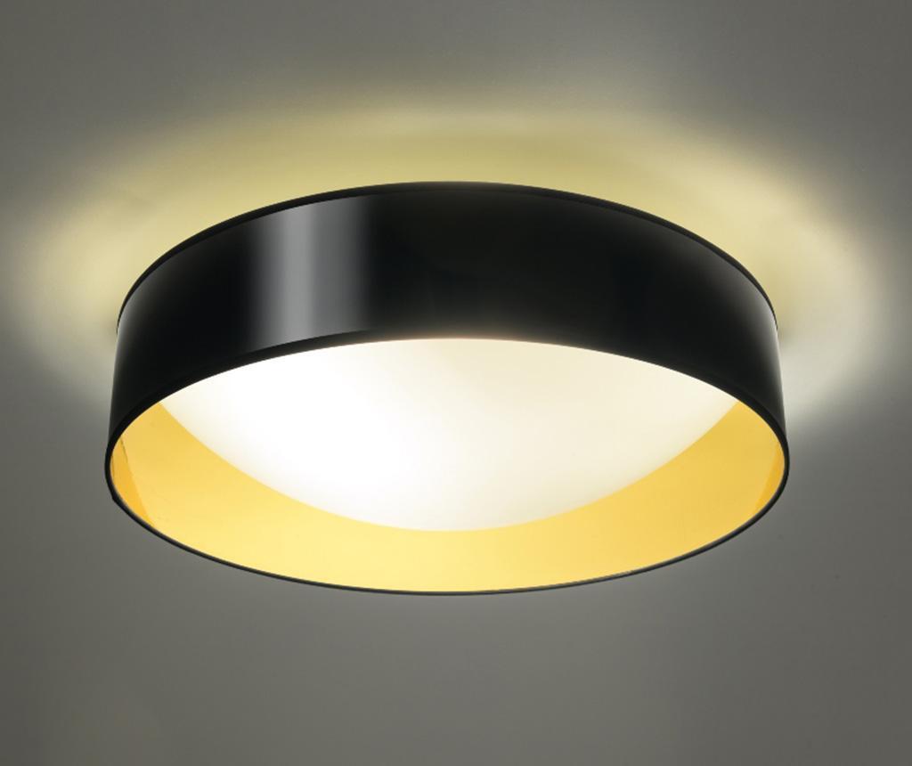 Plafoniera Tiziano Black Golden M