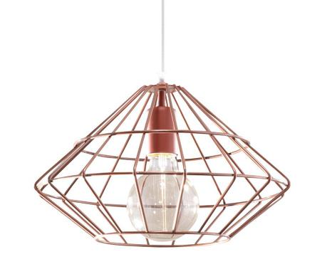 Závěsná lampa Editta Copper