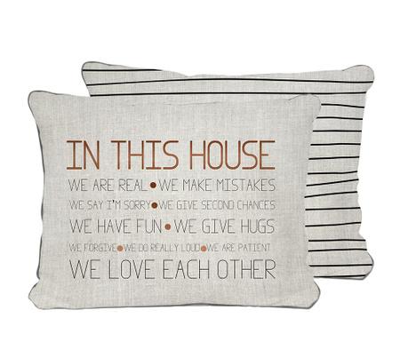 Ukrasni jastuk In this House 35x50 cm