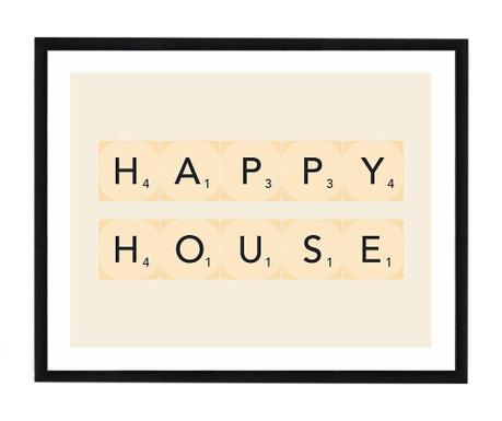 Slika Happy House 40x50 cm