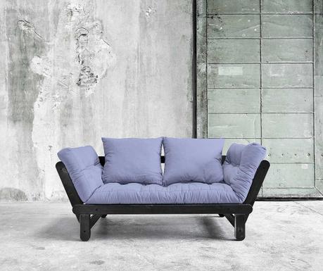 Sofa extensibila Beat Black and Blue Breeze