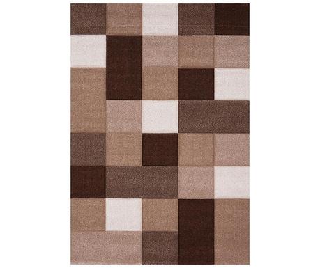 Covor Brilliance Squares Brown