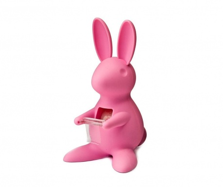 Suport pentru scotch de birou Bunny Pink