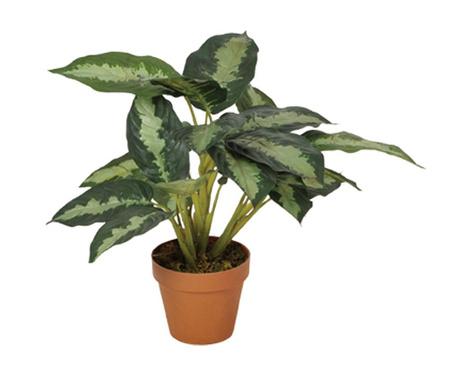 Umjetna biljka u posudi za cvijeće Galatea