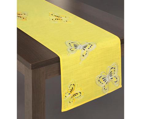 Traversa de masa Bati Yellow 40x140 cm