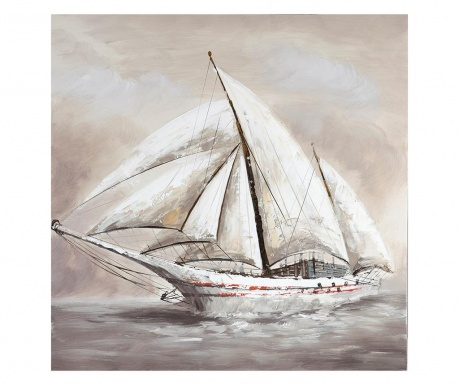 Slika Boat 80x80 cm