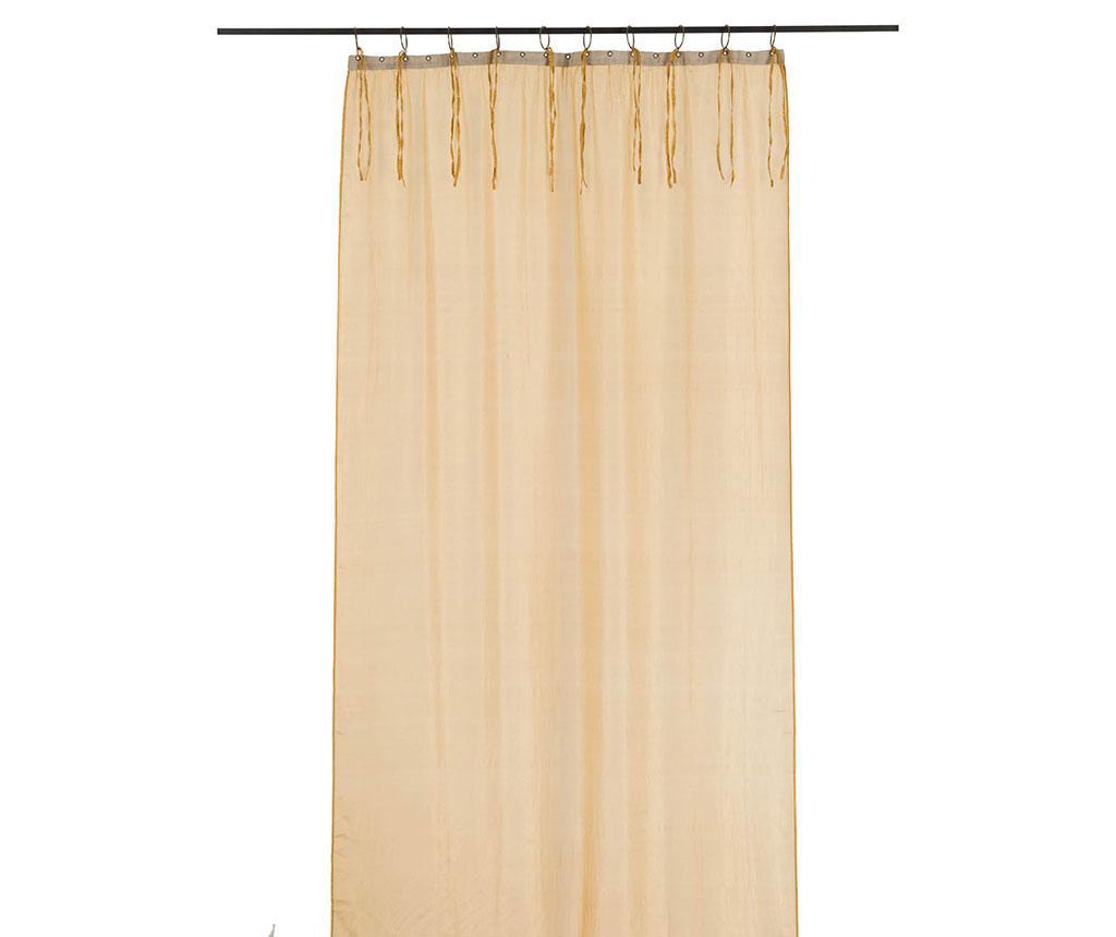 Perdea Elegant Silk Gold 95x280 cm