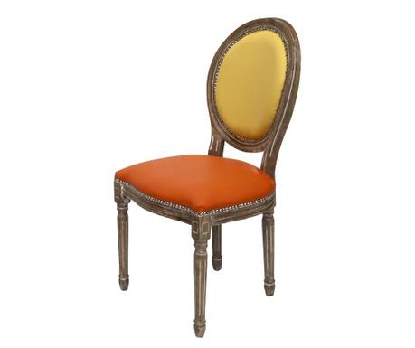 Krzesło Tiffany Yellow Orange