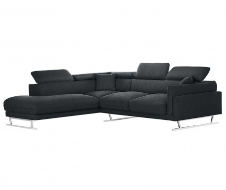 Coltar stanga Giselle Big Anthracite