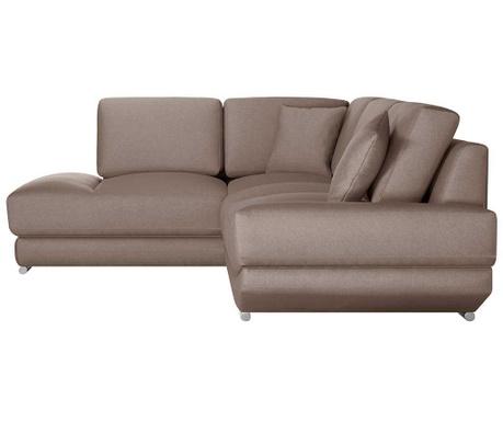 Ляв ъглов диван Kaya Hazelnut
