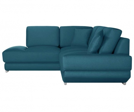 Ляв ъглов диван Kaya Turquoise