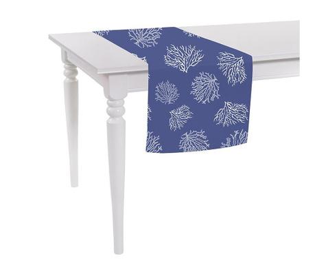 Bieżnik stołowy Corals Dark Blue 40x140 cm