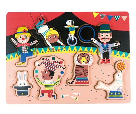 Siedmioczęściowa gra typu puzzle Circus