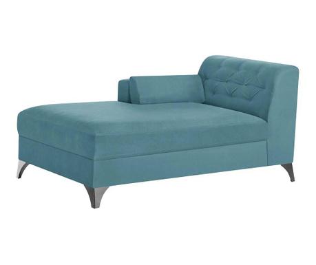 Lehátko do obýváku levostranné Vanity Turquoise