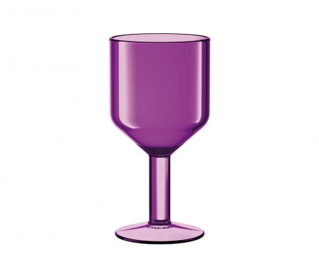 Kozarec za vino The Good Times Purple 240 ml