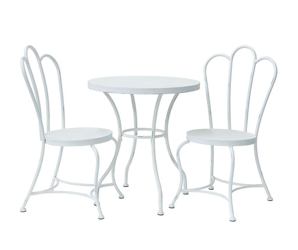 Set stol i 2 stolice za vanjski prostor Angelo Tavi