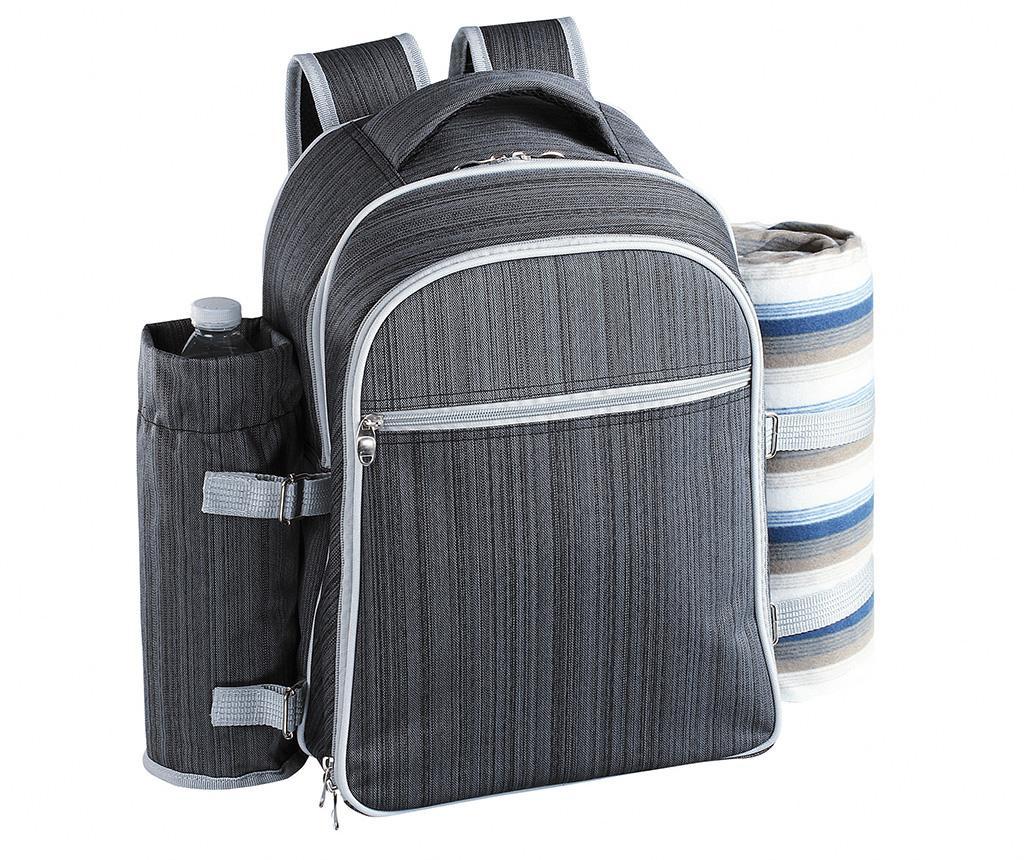 Rucsac echipat pentru picnic 4 persoane Force