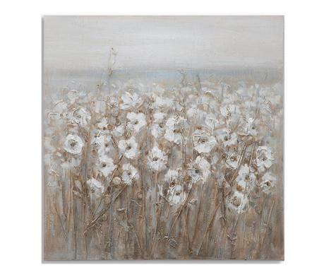 Slika Flowery Field 80x80 cm