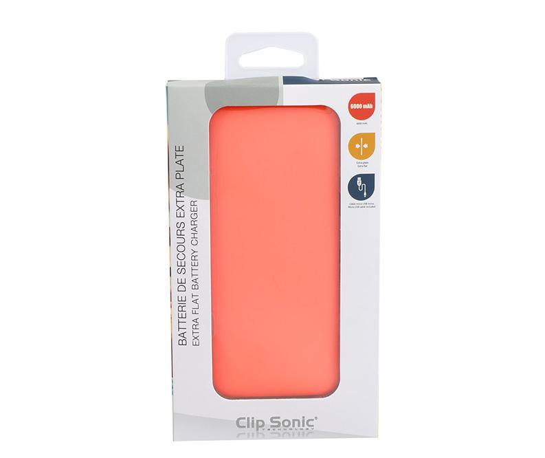 Baterie externa Flat Orange