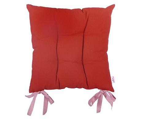 Jastuk za sjedalo Pure Red 37x37 cm