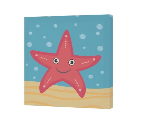 Картина Starfish 27x27 см