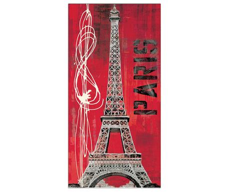 Картина Paris Vibe 50x100 см