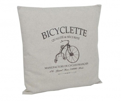 Perna decorativa Qualite Bicycle 40x40 cm
