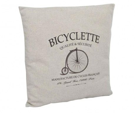 Perna decorativa Tall Bicycle 40x40 cm