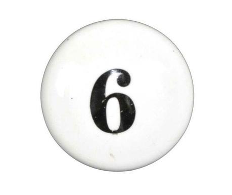 Дръжка за чекмедже Number Six