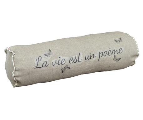 Perna decorativa La Vie Est 14x48 cm