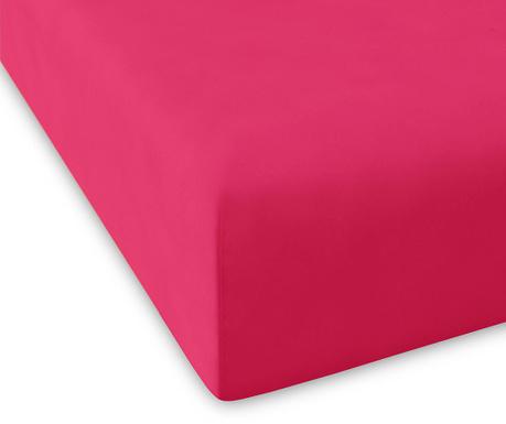 Cearsaf de pat cu elastic Casual Fuchsia