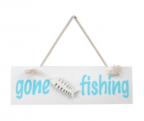 Decoratiune de perete Gone Fishing