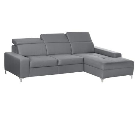 Десен ъглов диван Cardigan Grey
