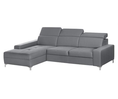 Ляв ъглов диван Cardigan Grey