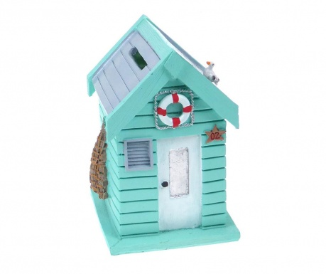 Beach Hut Turquoise Persely