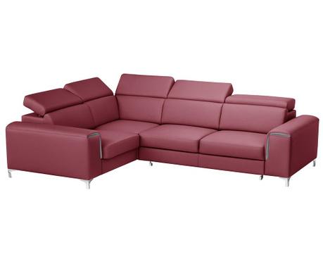 Разтегателен ляв ъглов диван Backstage Red