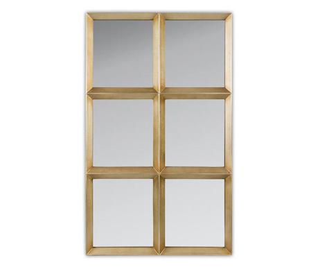 Decoratiune de perete cu oglinda Segment