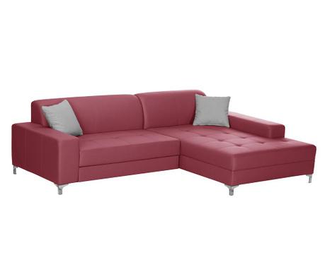 Десен ъглов диван Symbole Red