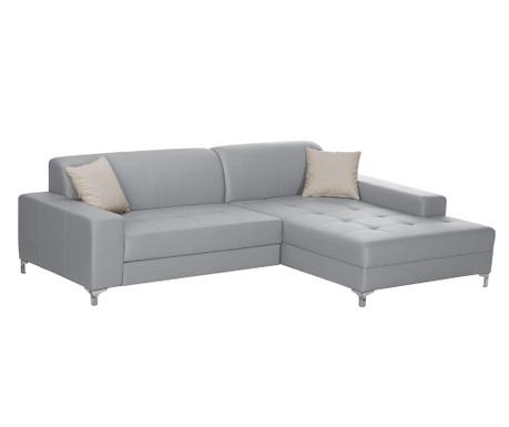 Разтегателен десен ъглов диван Symbole Grey
