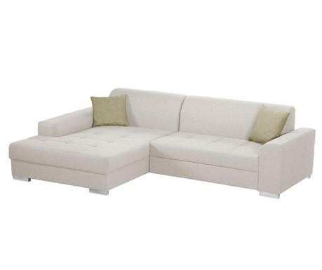 Ляв ъглов диван Icone Cream