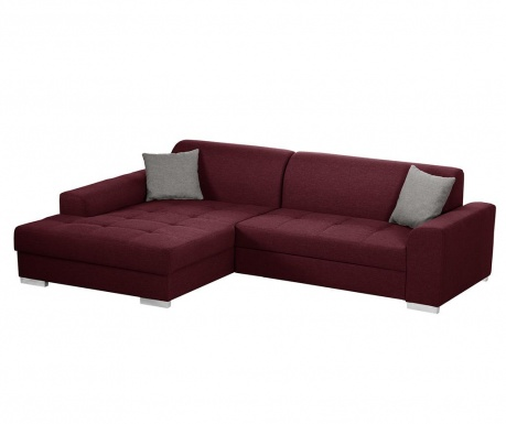 Ляв ъглов диван Icone Red