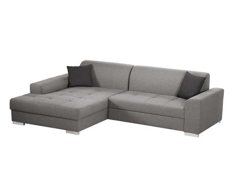 Ляв ъглов диван Icone Grey