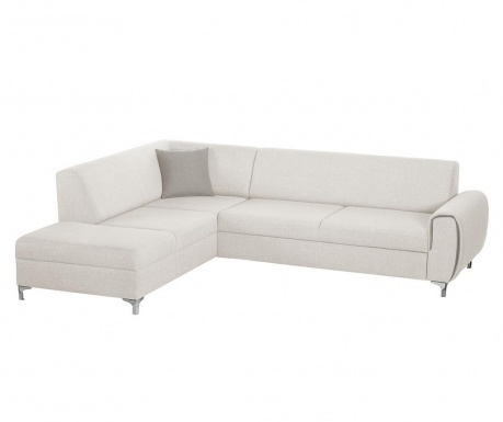Ляв ъглов диван Contour White