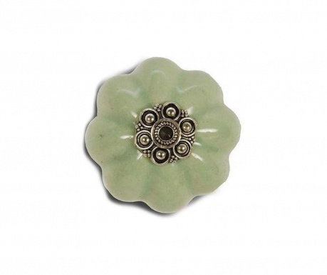 Buton pentru sertar Flower Mint