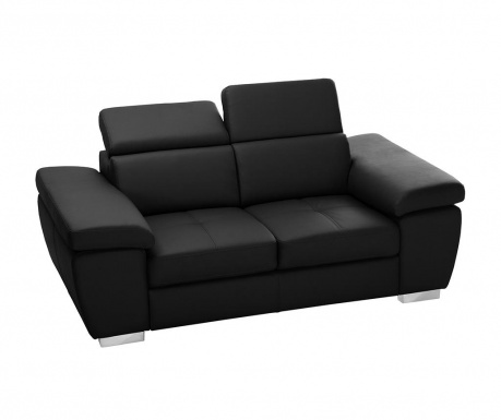 Canapea 2 locuri Parure Black