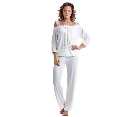 Pijama dama Clover Cream