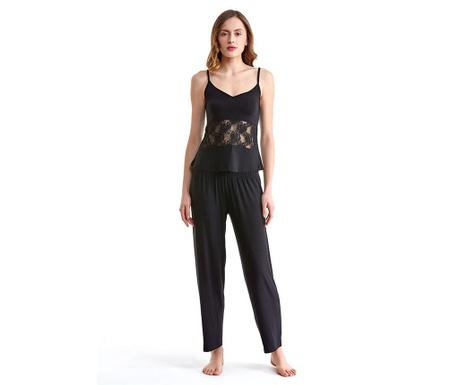 Dámské pyžamo Lineea Black