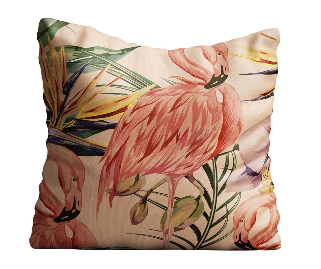Dekorační polštář Flamingo 40x40 cm