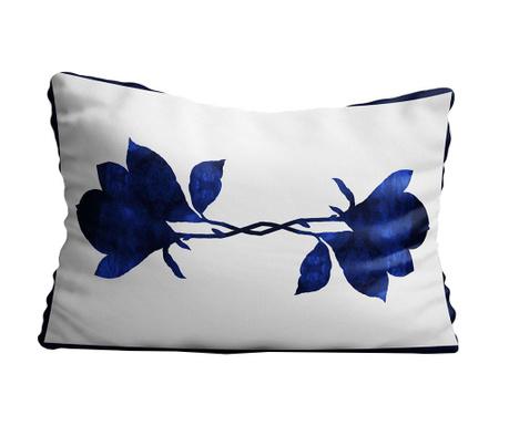 Διακοσμητικό μαξιλάρι Bluesse Flowers 30x50 cm